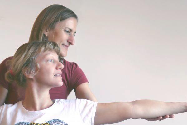 Yogatherapie Kriegerin